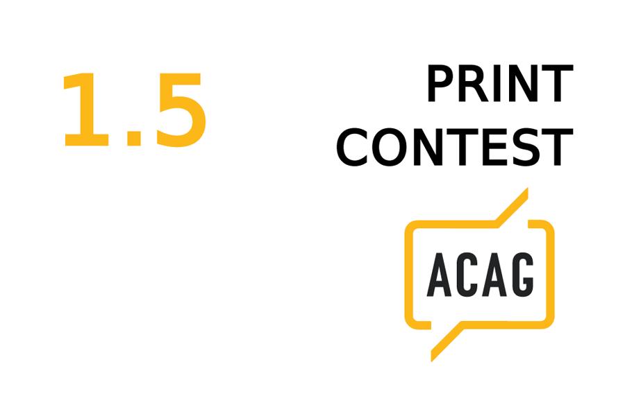 ACAG Print Contest